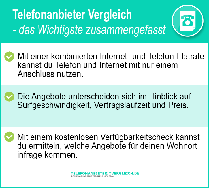 Telefonanbieter Warentest
